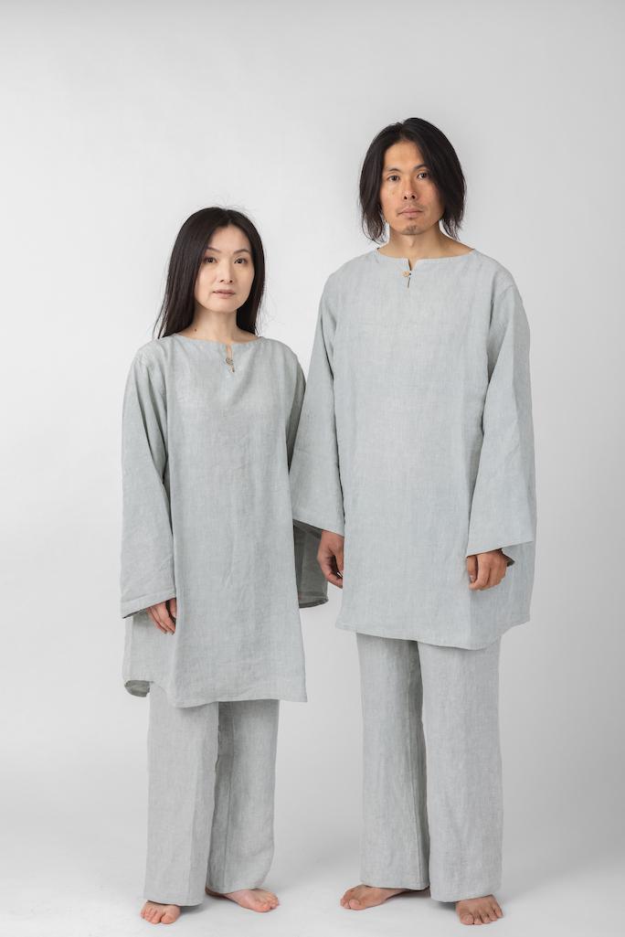 ヘンプ100%パジャマ